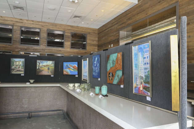 Gallery Clarendon is open  on Clarendon Boulevard