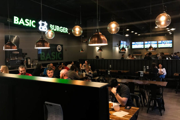Basic Burger at Pentagon Row (photo courtesy Guillermo Castillo)