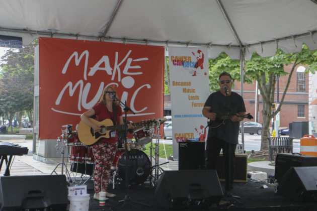 Make Music Day event in Clarendon