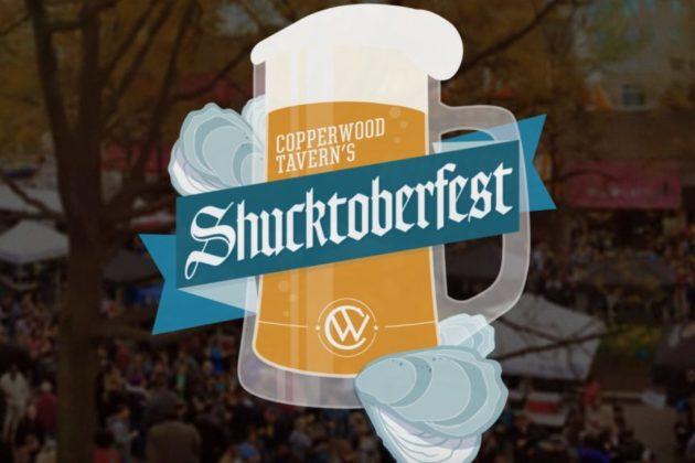"""""""Shucktoberfest"""" logo"""