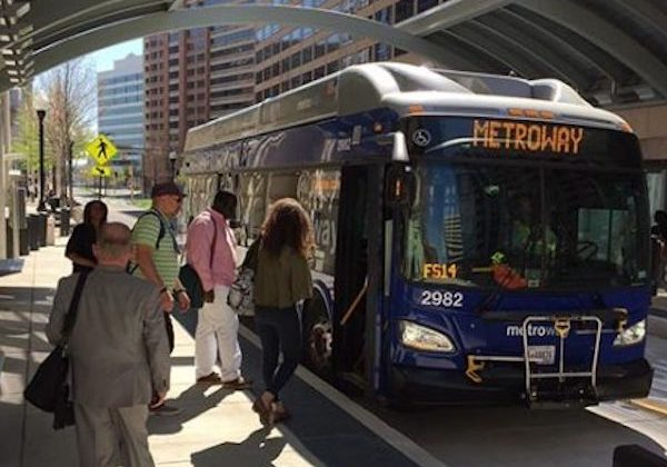 Transitway Bus at station (file photo)