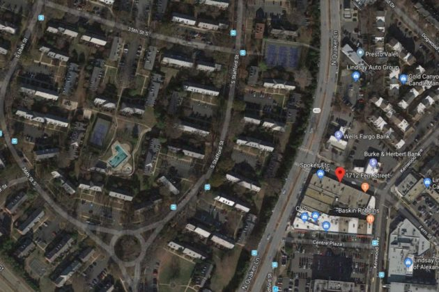 Chemical Leak at Fairlington Dry Cleaners Prompts Neighborhood