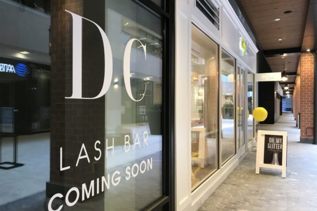 DC Lash Bar Set to Open Monday at Ballston Quarter | ARLnow com