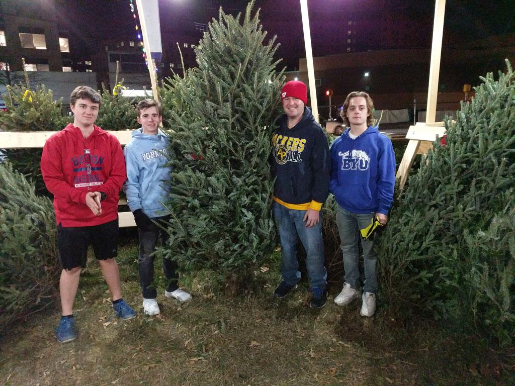 Lions Club Christmas Tree Sale Returns To Columbia Pike