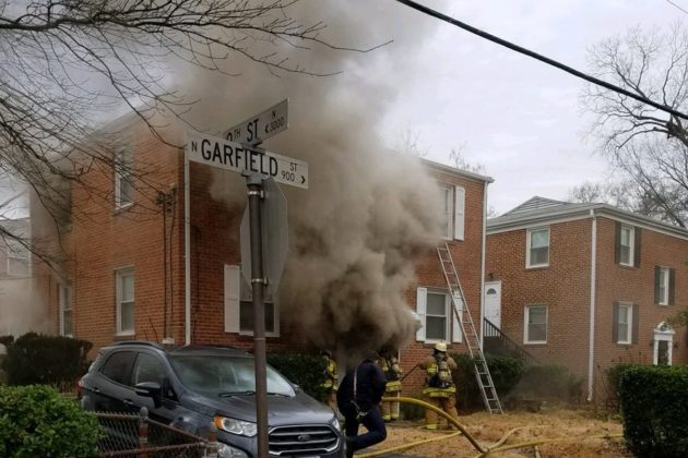 Lyon Park Woman Recounts Her Harrowing Jump From A Second Floor Window To Escape A House Fire Arlnow Com