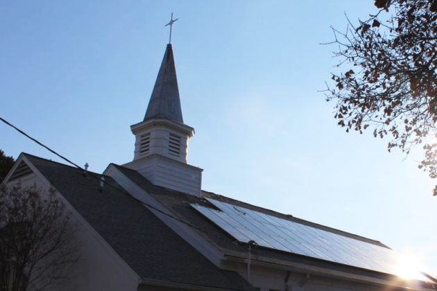 Nauck Church Looks To Cut Back On Emissions With Large