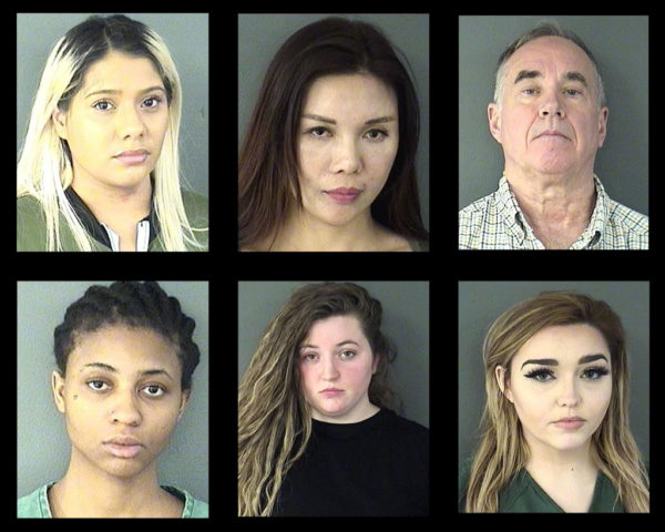 Arlington Police, FBI Arrest 9 After Prostitution Bust