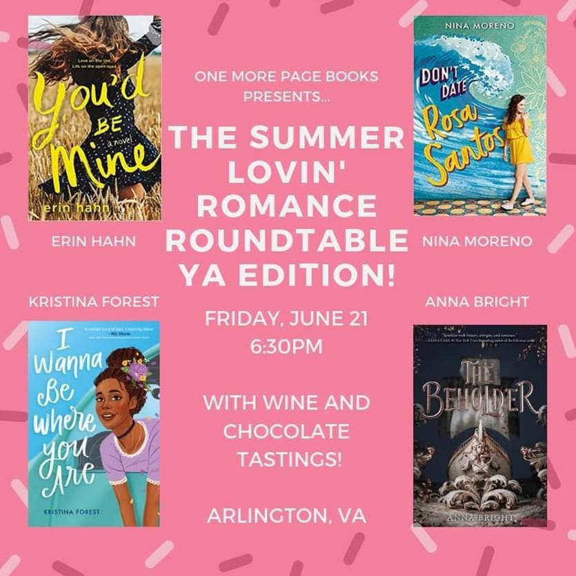 Summer Lovin' Romance Roundtable- YA Edition! (Event