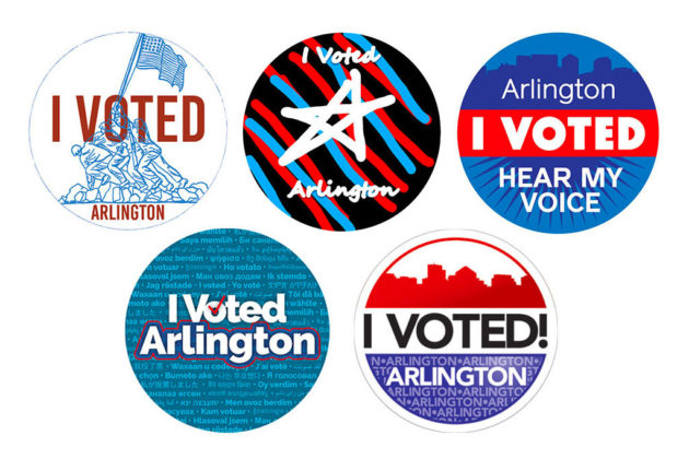 photo about I Voted Stickers Printable called The Votes Are Within just and Arlington Includes a Refreshing I Voted Sticker