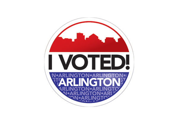 graphic regarding I Voted Stickers Printable titled The Votes Are Within just and Arlington Incorporates a Fresh I Voted Sticker