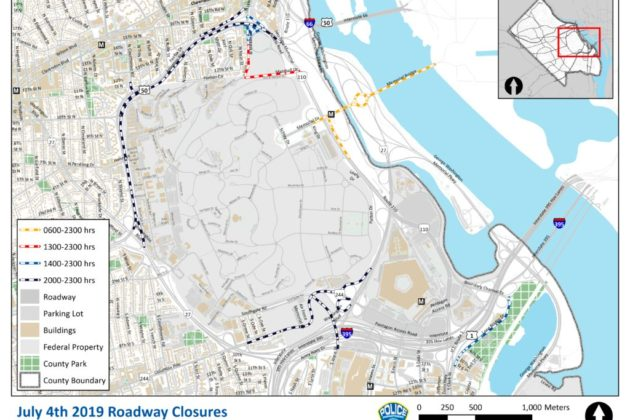Fourth of July Celebrations to Prompt Road Closures | ARLnow com