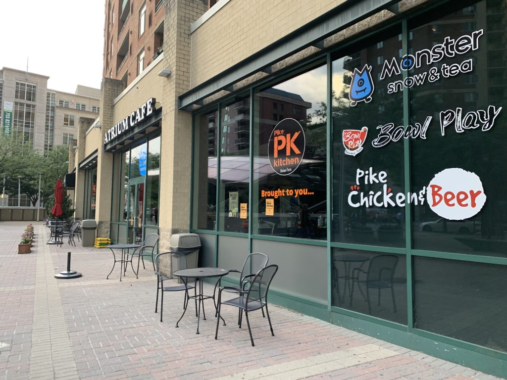 New Asian Restaurant in Virginia Square