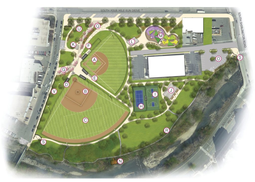 County to Consider Construction Contract, Additional Space for Jennie Dean Park