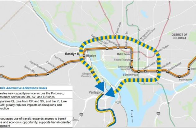 Metro Envisions New Rosslyn Station, Silver Line Down ...