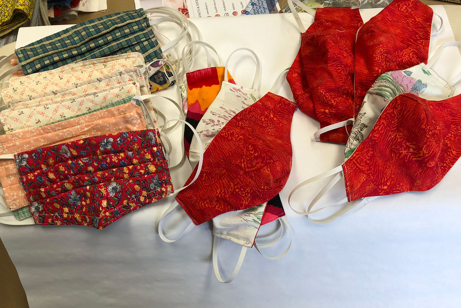 Arts Focus: Arlington Arts Sews Masks in Partnership with Department of Human Services