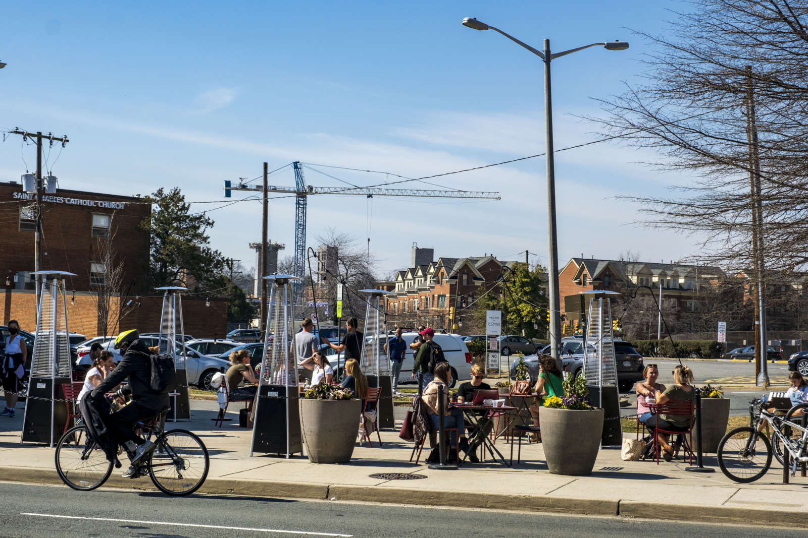 County Unveils Way For Eateries to Keep Their Outdoor Seating, For Now