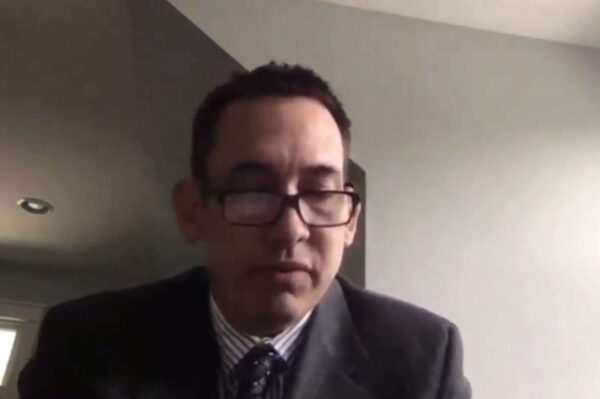 Arlington Dad Tells Congress Virtual Instruction Nearly Cost Him His Son
