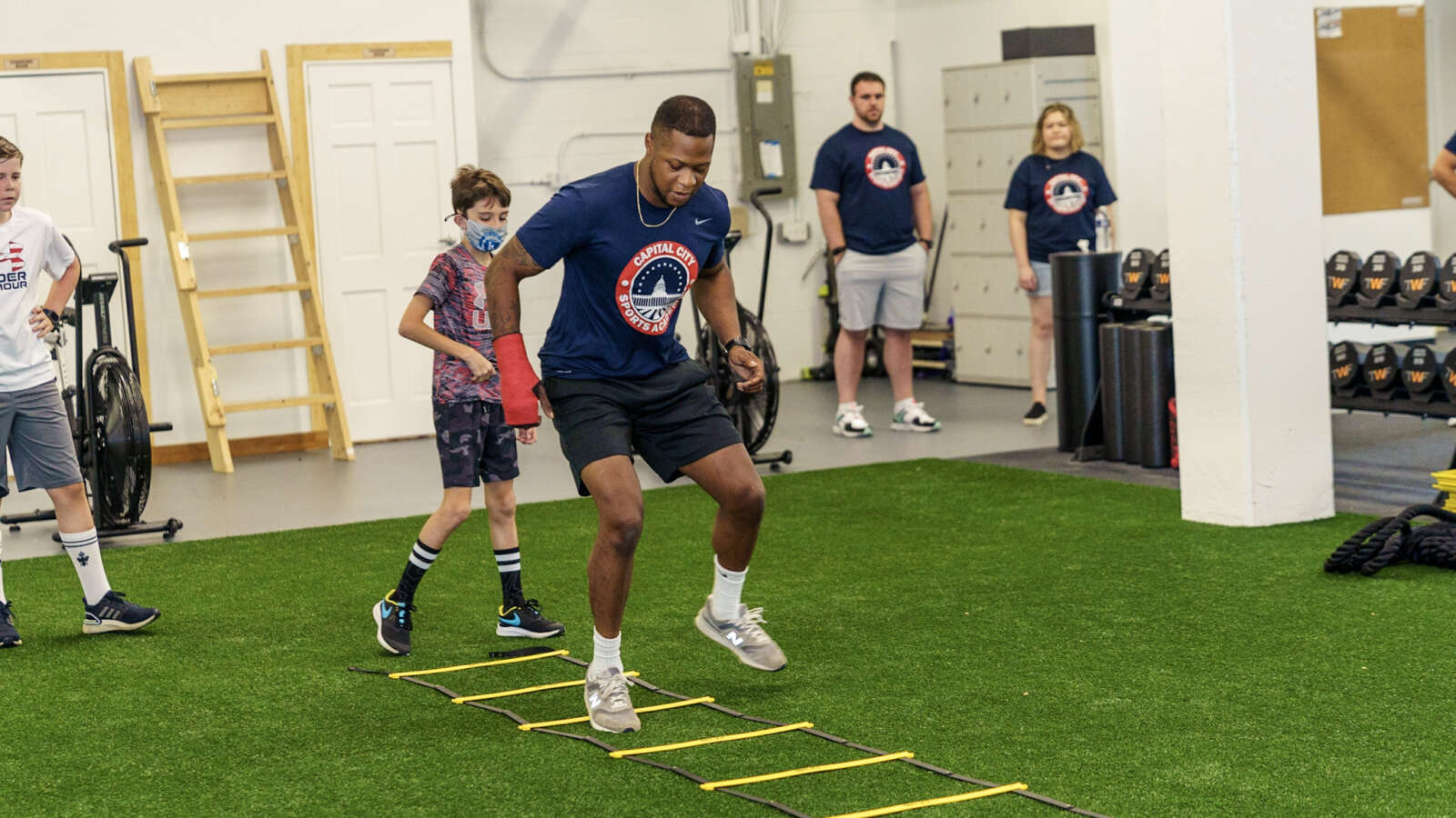 Student-Athlete Training Facility Opens in Bailey's Crossroads