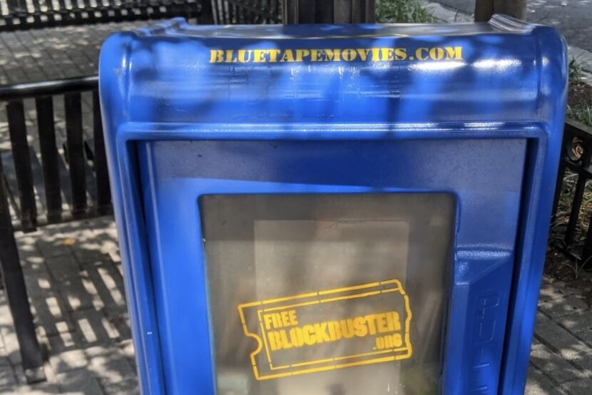 New 'Free Blockbuster' Boxes Let Locals Donate and Borrow Movies